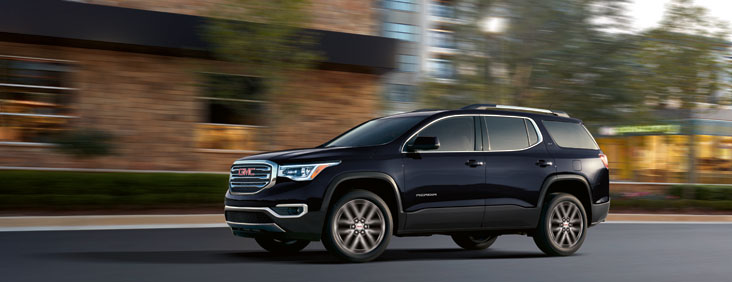 The 2019 GMC Acadia comes standard with a powerful V6 engine.